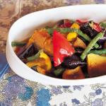夏野菜の中華風揚げびたし