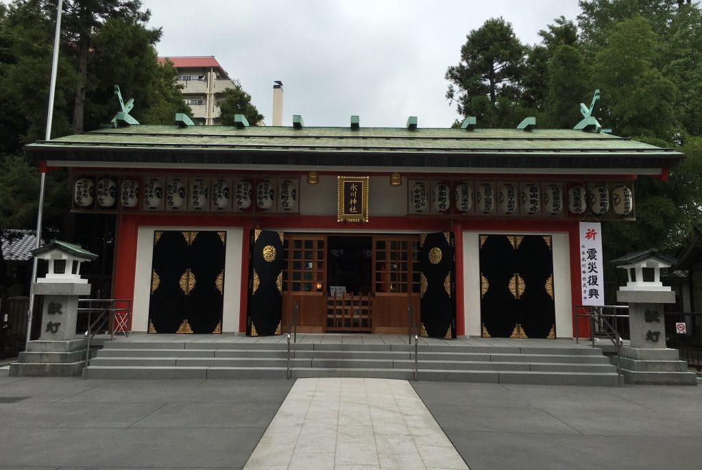 神社2回目氷川神社