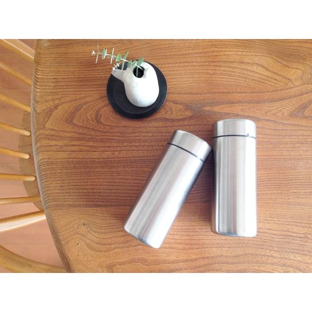 無印良品のステンレスワイヤーバスケット収納方法のブログ画像