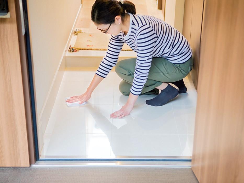 玄関 たたき 掃除