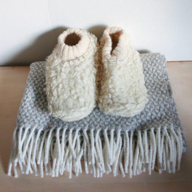 ベビー用・洗える綿毛布 85×115cm