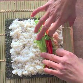 LEEチャンネル3月号 巻き寿司