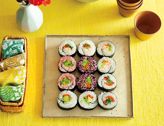 LEE3月号巻き寿司