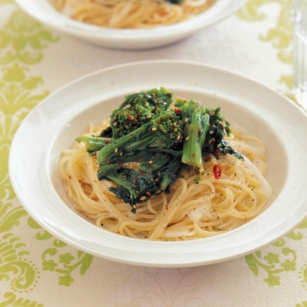 「春野菜ナムルのパスタ」レシピ/コウケンテツさん