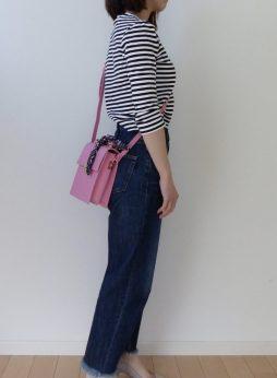 8e3359708918 ZARAにて、ピンクのスカーフ付きショルダーバックを♪ 今年はピンク大人気ですね♪ 私も好きです! どうにもこうにも、ピンクの服が増えています(笑)。