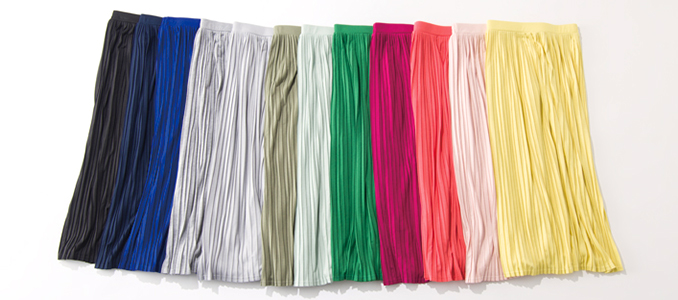 LEEwebプレゼント201704プリーツスカート