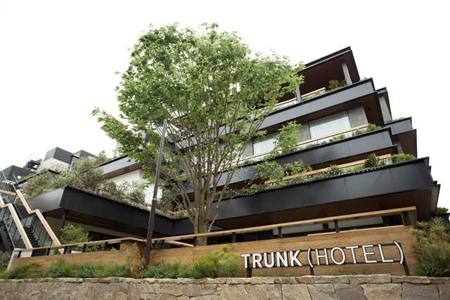 Trunk hotel lee for Top 100 design hotels