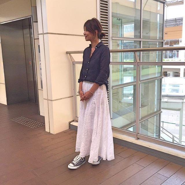 五明祐子のスカート画像