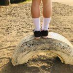 子どもの靴下は汚れがち。