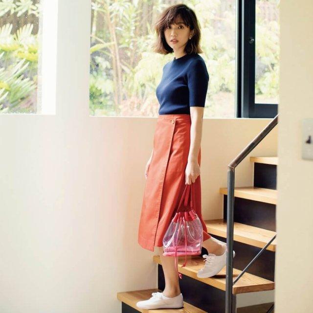 2018年のユニクロはスカートが大豊作!体型カバー効果大の「美脚スカート」を見逃さないで!