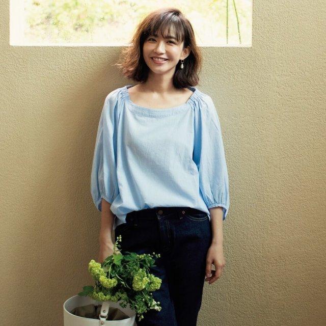着ていることを忘れるような風通しのいいブラウス、無印良品にあります!by福田麻琴さん