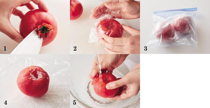 凍りトマト