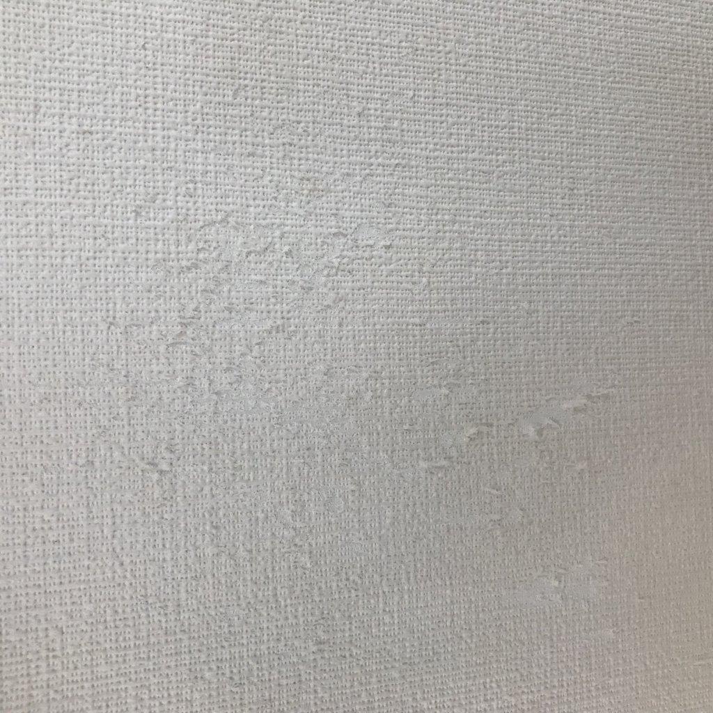 ブルーグレーの壁紙 サンゲツのリコール張替え Lee