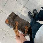 ヴィンテージのバッグ*