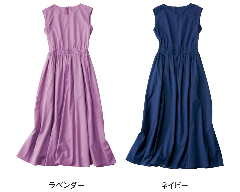 12closet【優木まおみさんコラボ】綿ローンワンピース(各)¥17800(サイズ:36、38)