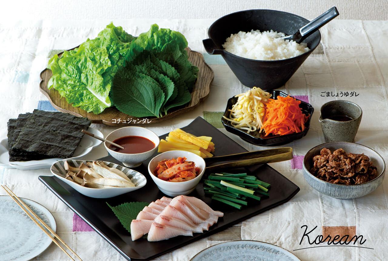 【韓国風手巻き寿司】「キンパ」レシピ/重信初江さん