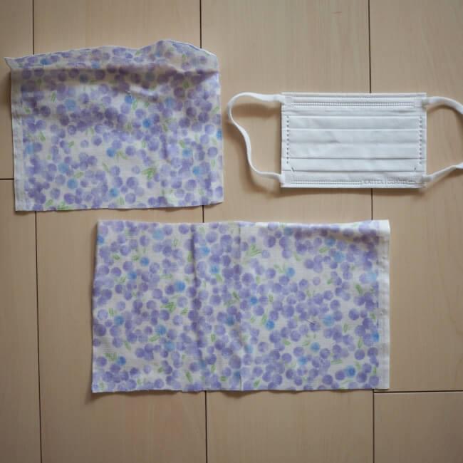 型紙 作り方 マスク 布 の