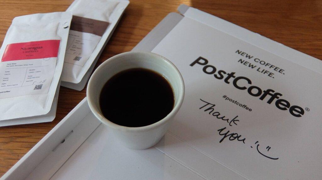 コーヒーのサブスク PostCoffee