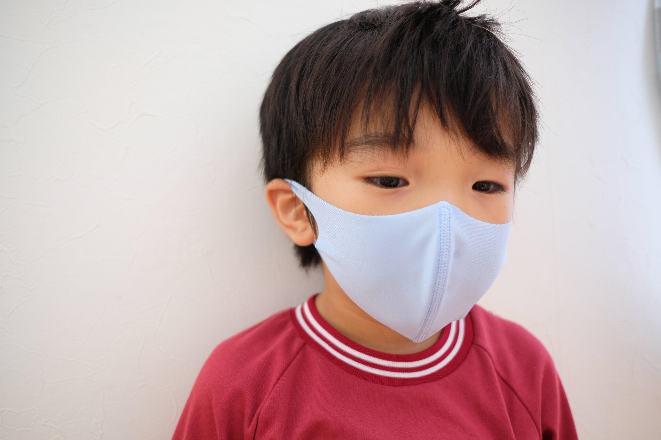 感 日本 マスク 製 子供 冷