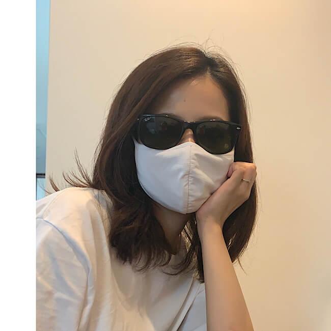 マスク サングラス