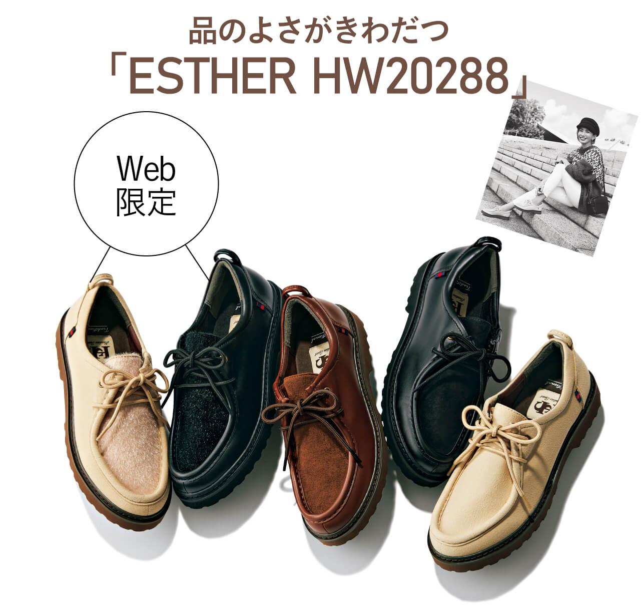 品のよさがきわだつESTHER-HW20288