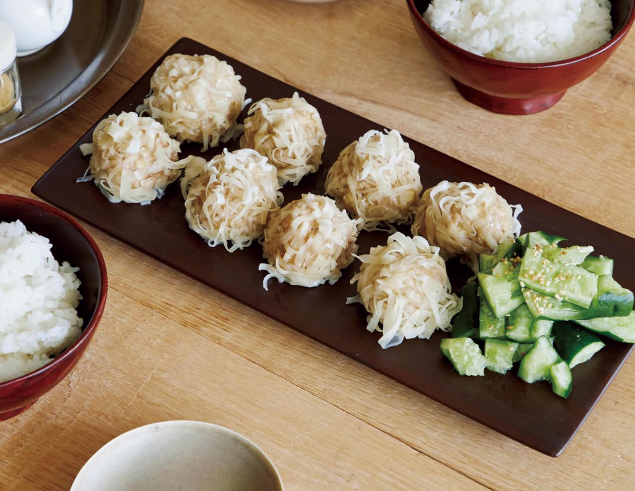「豚ひき肉と豆腐の包まない焼売」レシピ/ワタナベマキさん