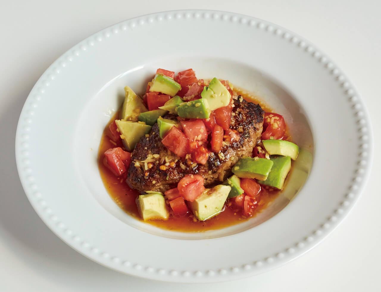 「トマトアボカドハンバーグソース」レシピ/今井亮さん