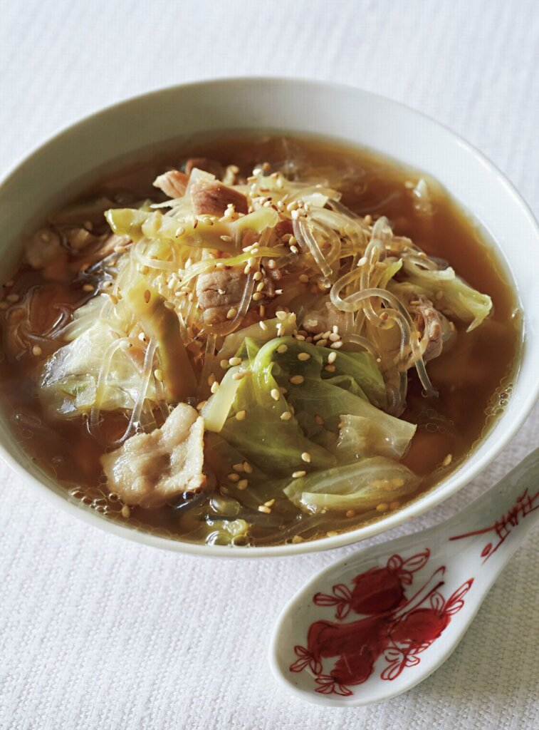 スープ キャベツ 中華