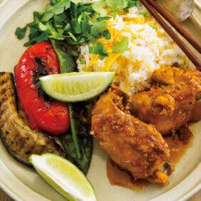 「カニと錦糸卵のタイ米混ぜごはん」レシピ/栗原はるみさん