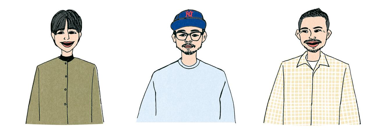 高橋美帆さん、橋本和歩さん、柿沼裕太さん
