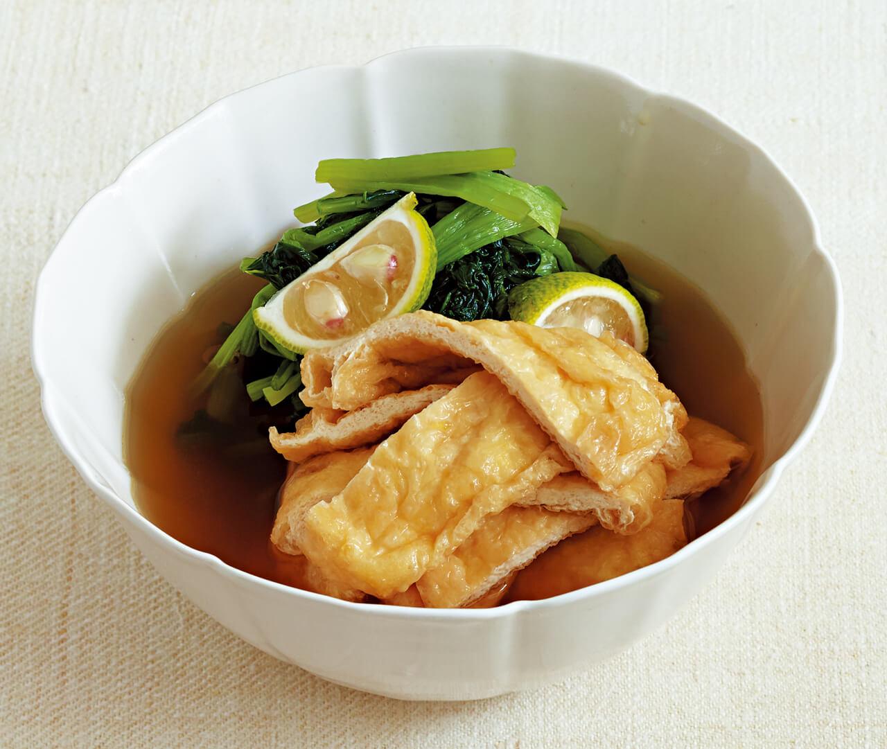 「小松菜の煮びたし」/栗原はるみさん