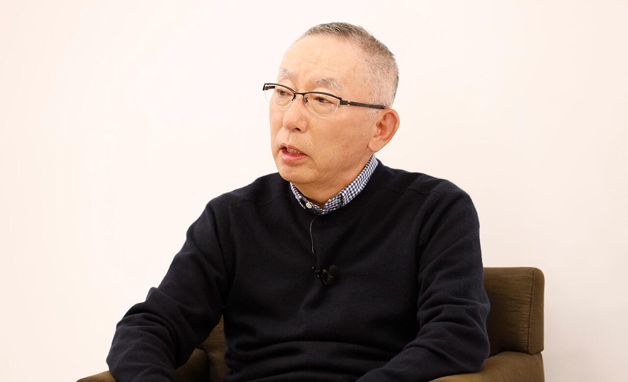 ファーストリテイリング代表取締役会長兼社長・柳井正氏