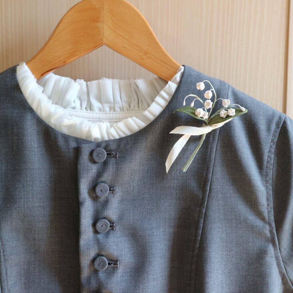 【入園式】GRANDMA MAMA DAUGHTERのスーツ