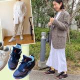 高木綾子/スニーカー/エアジョーダン4 エアフォース1