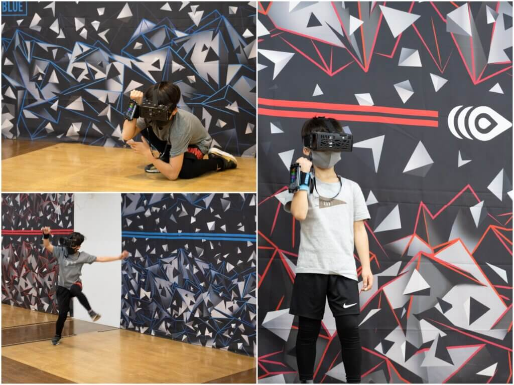 HADO VR体験 テクノスポーツ画像