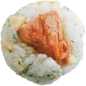 「サケチーズ青ノリおにぎり」レシピ/ワタナベマキさん