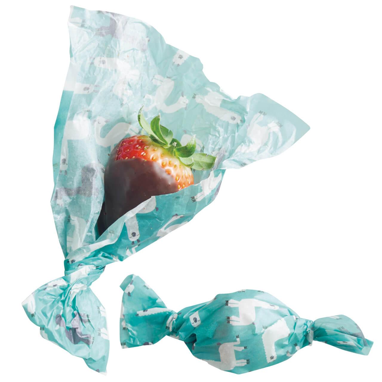 「いちごチョコキャンディ包み」レシピ/ワタナベマキさん