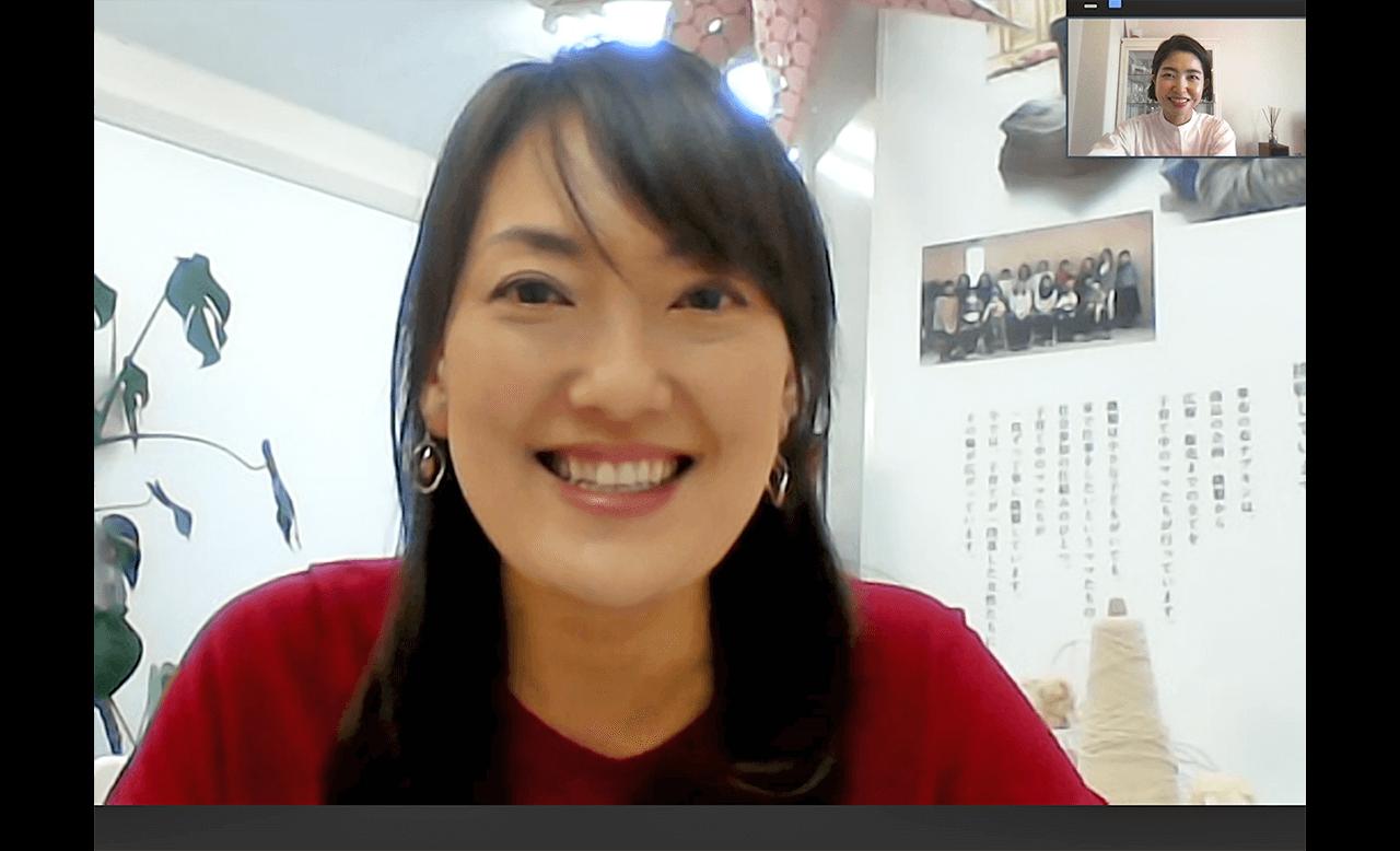 株式会社hanafu 代表取締役 大西千鶴さん