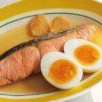 「シャケと卵の酢煮」レシピ/角田真秀さん