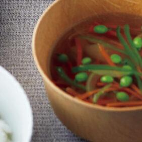 「野菜のおつゆ」レシピ/青山有紀さん
