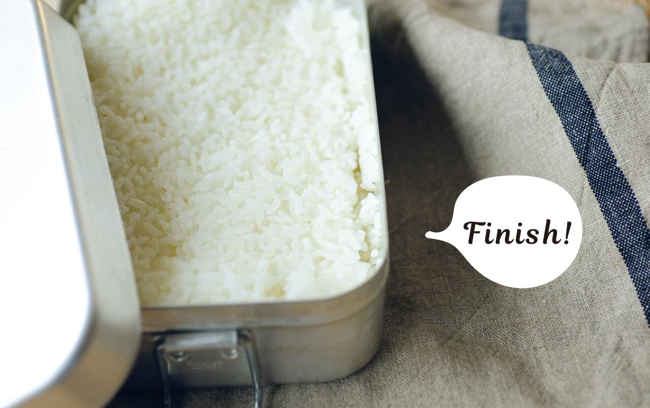 メスティンごはんの炊き方その④ Finish! トランギア社のラージメスティン 1350㎖¥2750/イワタニ・プリムス