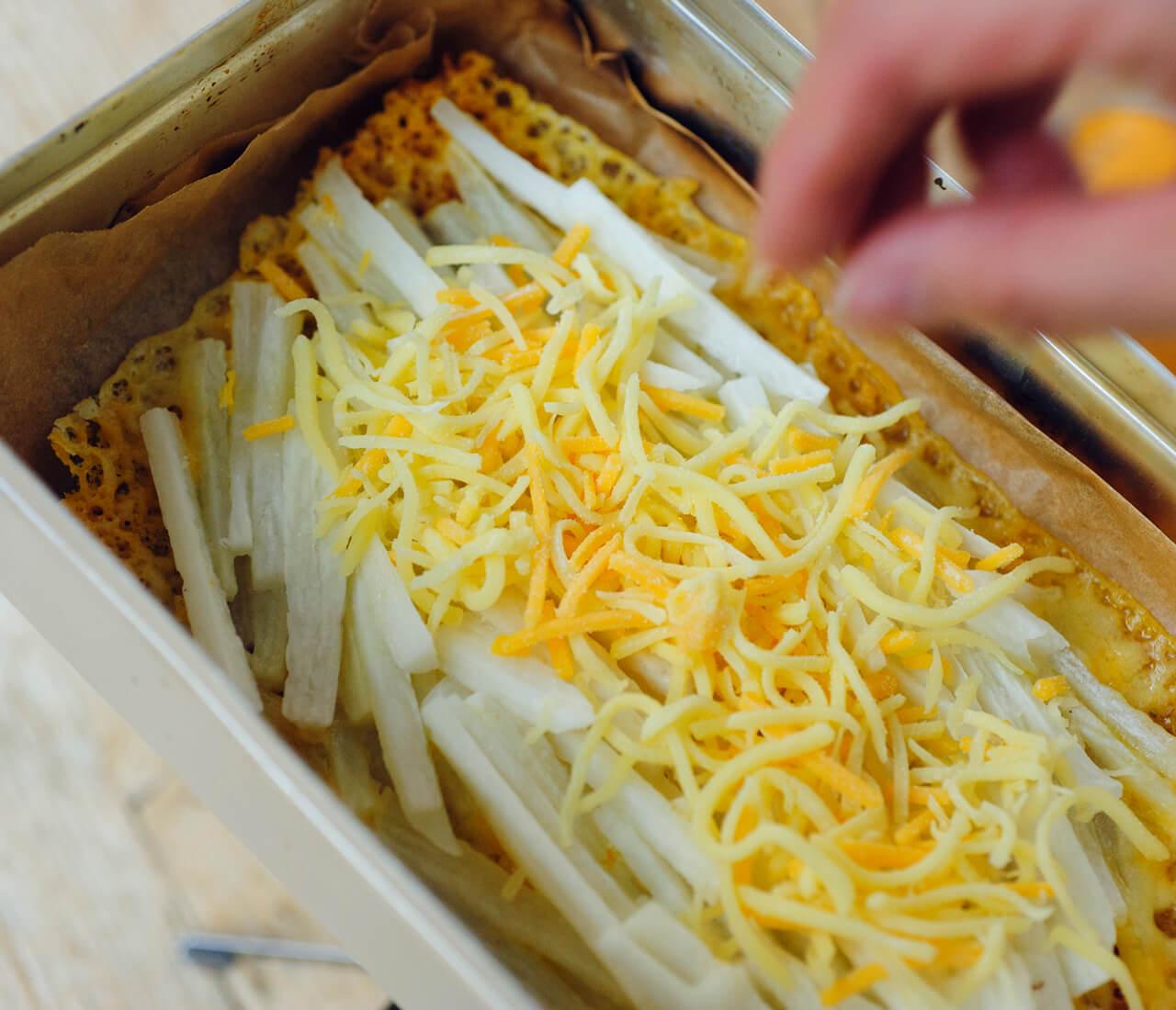 長いもチーズガレットの作り方のポイント/柚木さとみさん トランギア社のラージメスティン 1350㎖¥2750/イワタニ・プリムス