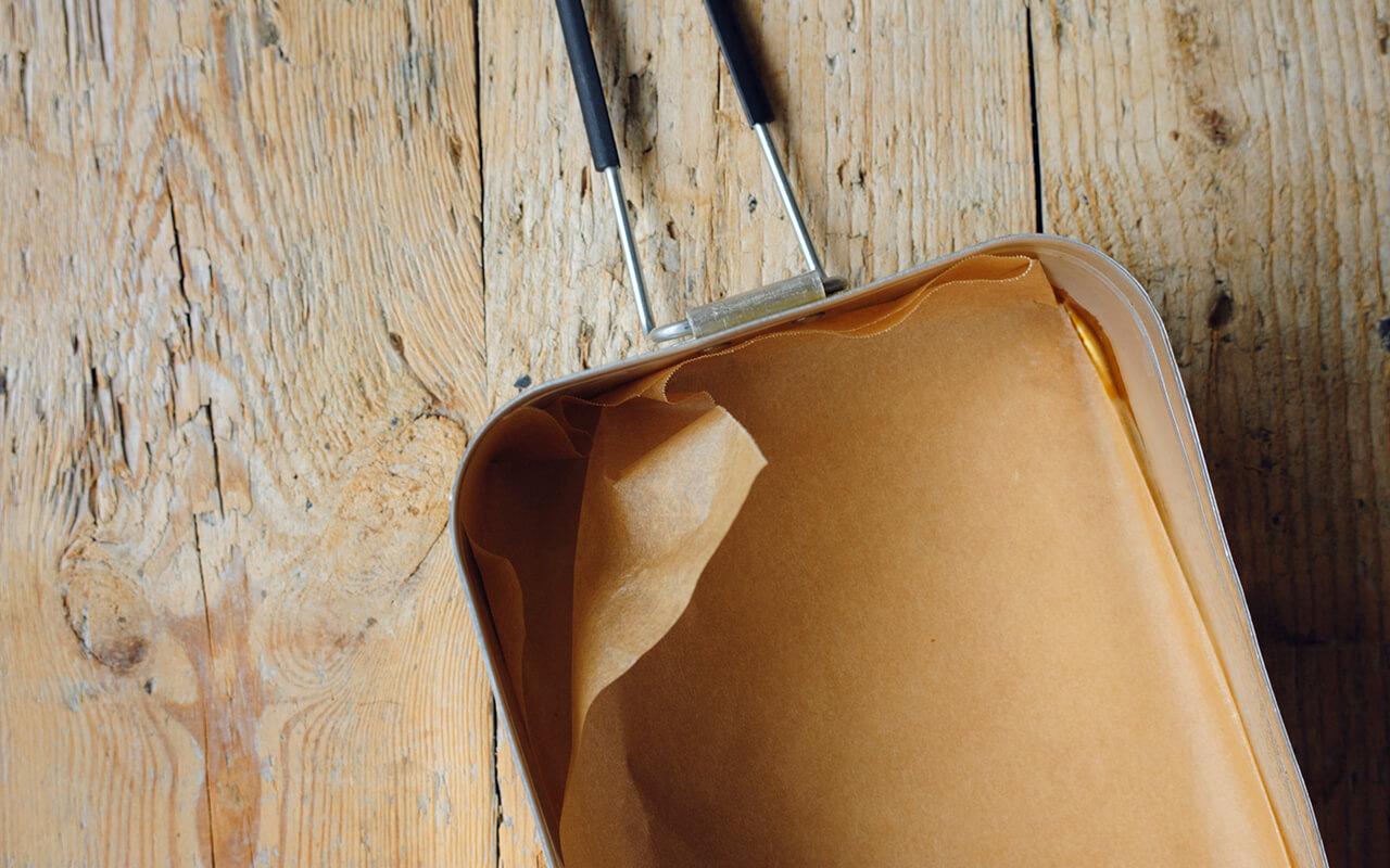 巣ごもりベーコンエッグの作り方のポイント トランギア社のラージメスティン 1350㎖¥2750/イワタニ・プリムス