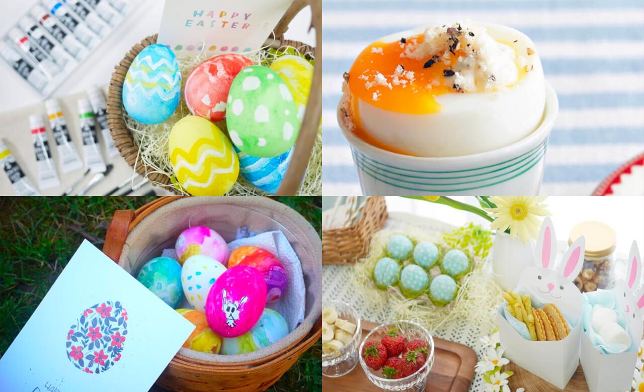 イースター気分満喫! 卵レシピにイースターエッグ…おうちで楽しむアイデアまとめ