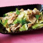 アイキャッチ画像:「豚肉とキャベツの青じそ炒め」レシピ/榎本美沙さん