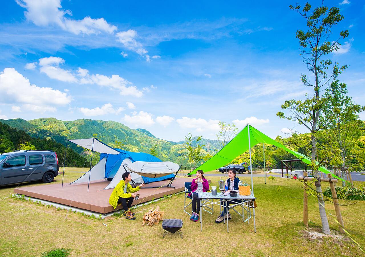 モンベル五ケ山ベースキャンプ 〈福岡県〉