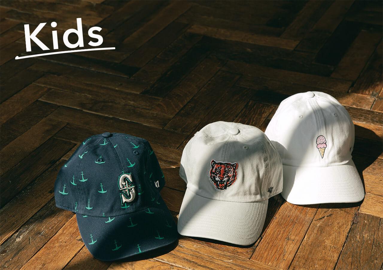'47 KIDS用帽子3点