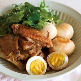 「鶏手羽中の梅酢煮」レシピ/ワタナベマキさん