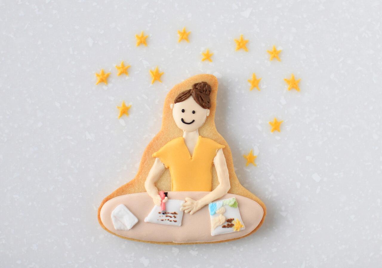 Sayaさんに感想のお手紙を書く読者/and BAKE