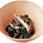 「みょうがとワカメの酢の物」レシピ/行正り香さん